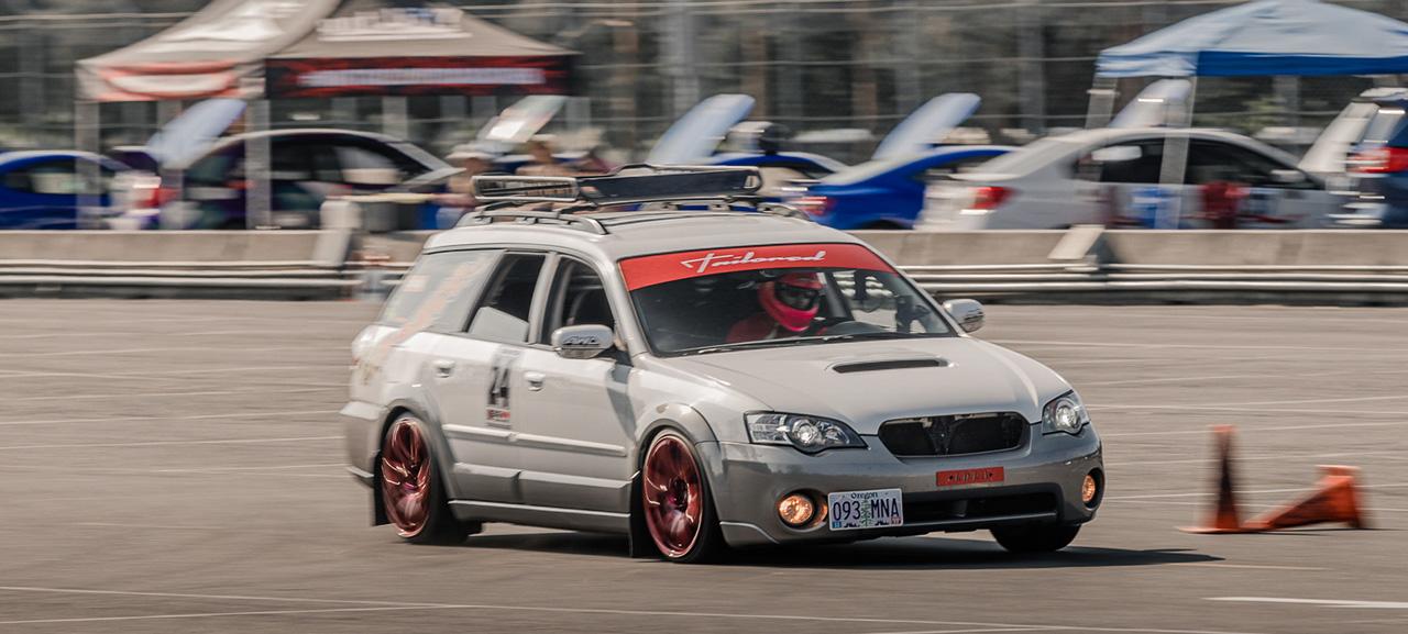 Horizontal Motorsports AllSubaru Autocross Big Northwest - Subaru car show california